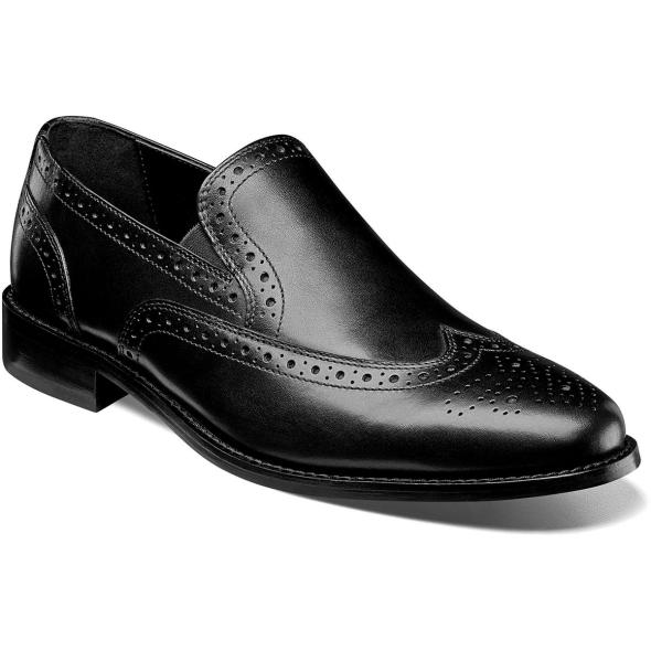 Norris Wingtip Slip On