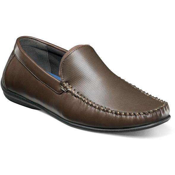 Quail Valley Moc Toe Venetian Slip On