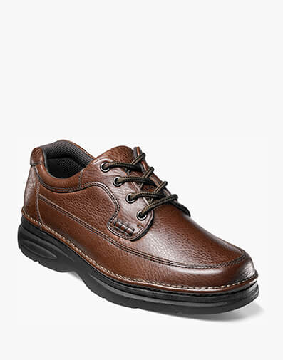 Cameron Moc Toe Oxford in Brown Tumbled for $69.95