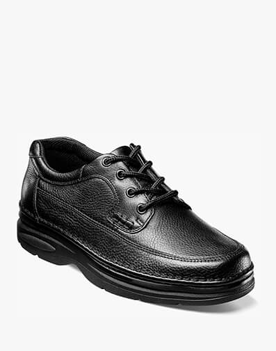 Cameron Moc Toe Oxford in Black Tumbled for $69.95