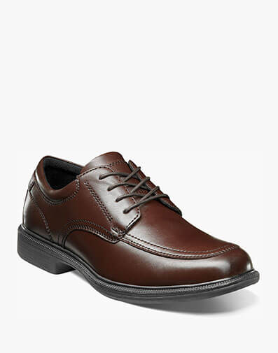 Bourbon Street Moc Toe Lace Up in Brown for $69.95