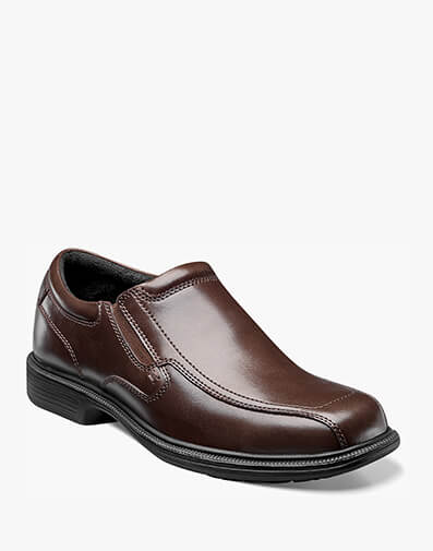 Bleeker Street Bike Toe Slip On in Brown for $69.95