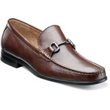 Nunn Bush Men's Glendale Bit, Moc toe slip-on loafer with burnished bit, Genuine leather upper, Breathable Suedetec linings, Dual Comfort: A unique combination of two foam compounds that you have to feel for yourself to believe. The top most layer is created from memory foam,which forms to your foot for instant comfort. The bottom layer is created from an open cell foam that absorbs the pressure of each step and provides all-day comfort., Flexible rubber outsole.