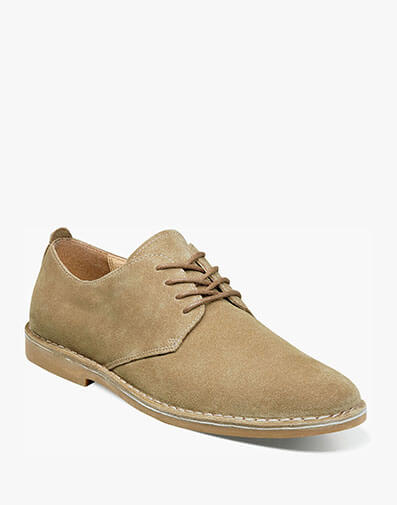 Gordy Plain Toe Oxford in Beige for $34.90