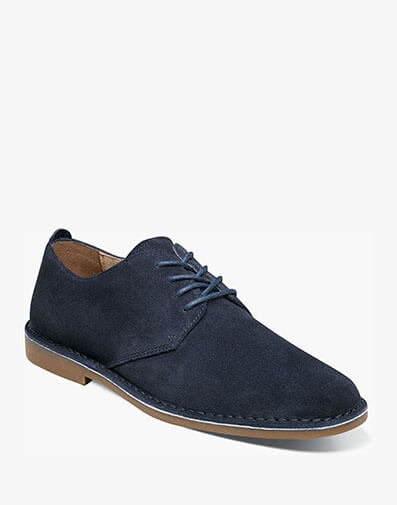 Gordy Plain Toe Oxford in Navy for $39.90