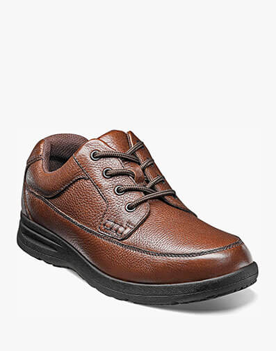 Cam Moc Toe Oxford  in Cognac Tumbled for $69.95