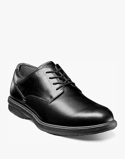 Marvin Street Plain Toe Oxford in Black for $69.95