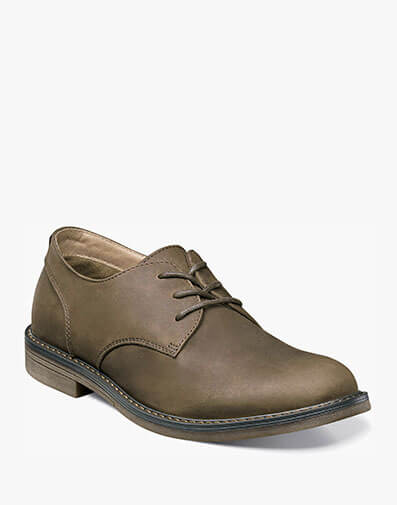 Linwood Plain Toe Oxford in Brown for $39.90