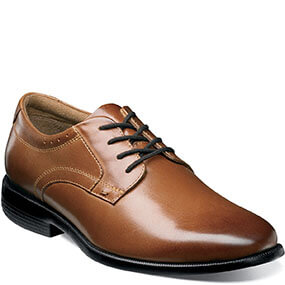 Devine  Plain Toe Oxford in Cognac for $59.90