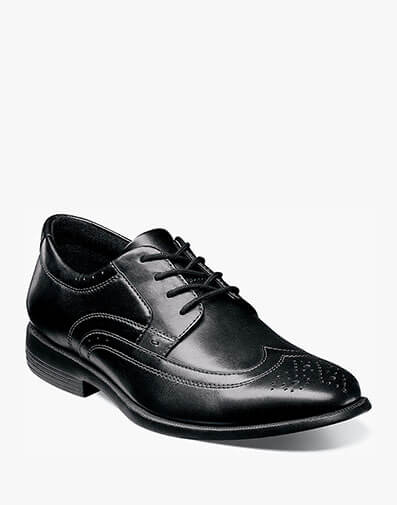 Decker Wingtip Oxford in Black for $59.90