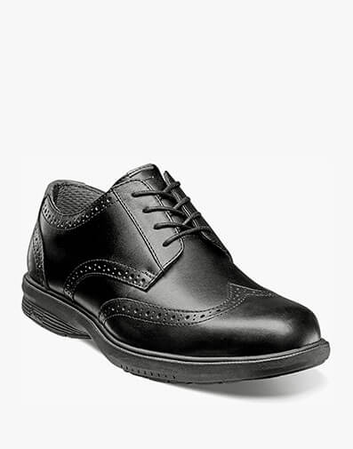 Maclin Street Wingtip Oxford in Black for $49.90