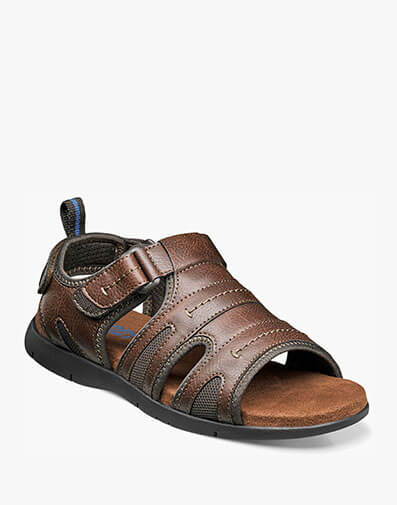 Rio Grande Open Toe Fisherman Sandal in Tan for $39.90