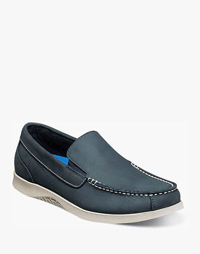 Bayside Moc Toe Venetian Slip On in Navy for $29.90