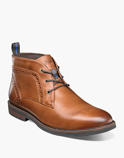 Ozark Plain Toe Chukka Boot in Tan Crazy Horse for $74.95