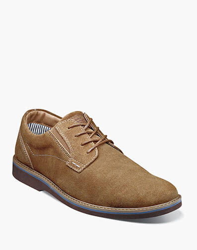 Barklay Plain Toe Oxford in Camel for $75.00