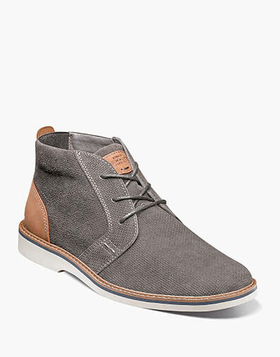 Barklay Plain Toe Chukka in Gray for $85.00