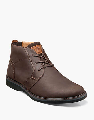 Barklay Plain Toe Chukka in Brown CH for $85.00
